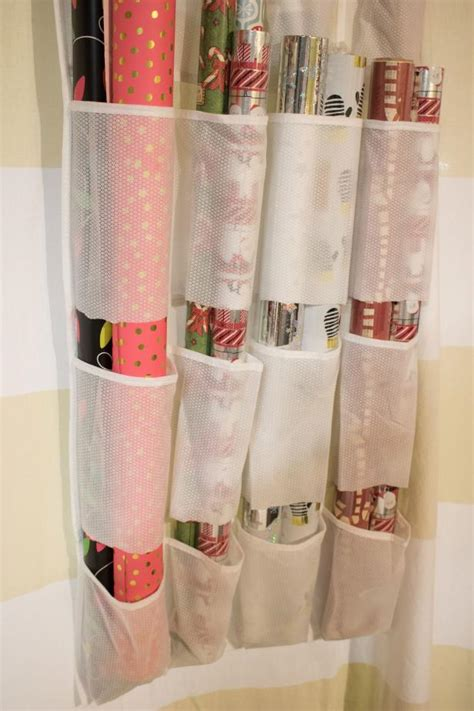 The Door Wrapping Paper Organizer by 36 Top Organizing And Storage Ideas Hgtv S