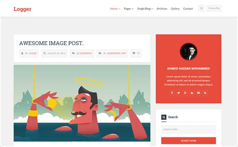 bootstrap blog templates free premium themes creative