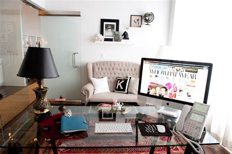 chic home office desk sunday sweet spot home office decor inspiration