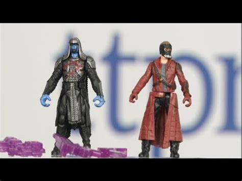 Original Hasbro Guardians Of Galaxy Vol 2 Lord Mix marvel guardians of the galaxy ronan and lord figure 2 pack from hasbro