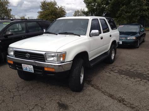 1995 Toyota 4runner For Sale 1995 Toyota 4runner For Sale In Tacoma Wa