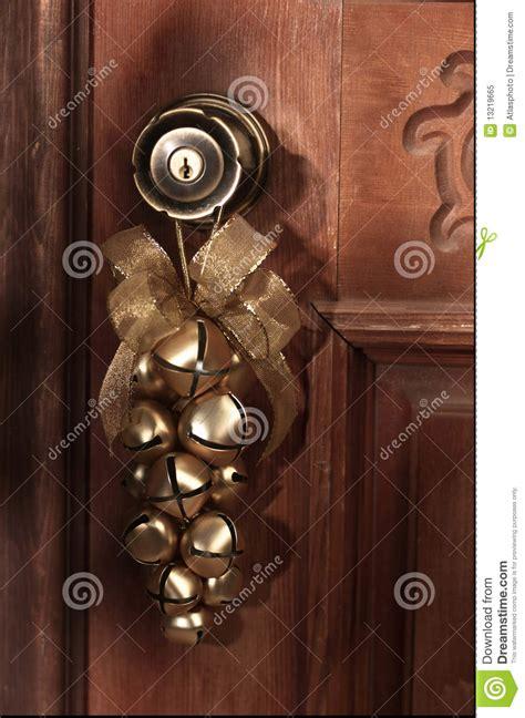 christmas bells door decoration decor sleigh bells stock image image 13219665