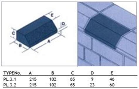 ketley class  blue plinth stretcher brick