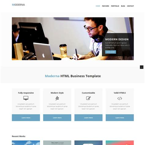 tutorial web design with bootstrap template bootstrap gratis dan responsive untuk website