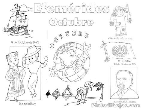 imagenes octubre negro pinto dibujos efem 233 rides octubre para colorear