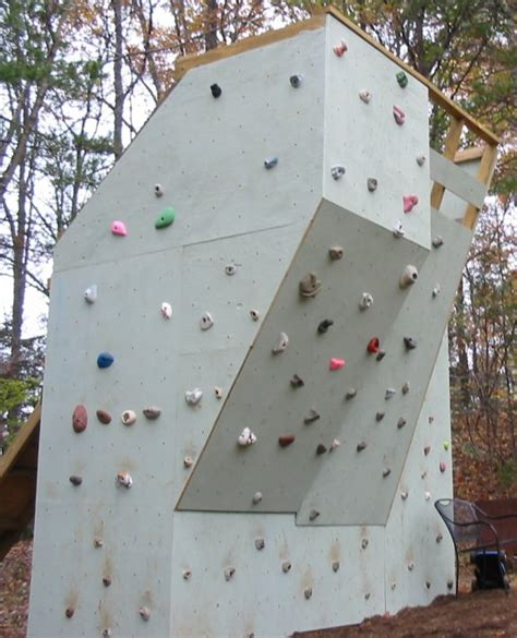 backyard bouldering wall backyard climbing wall make
