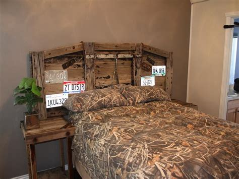 Rustic Wooden Headboard Diy Rustic Headboard Ideas Home Design