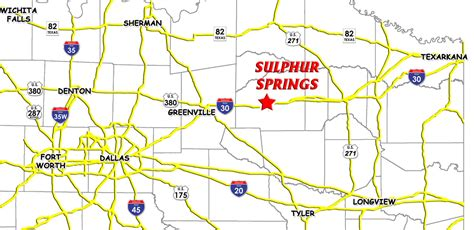 springs texas map maps sulphur springs county economic development corporation
