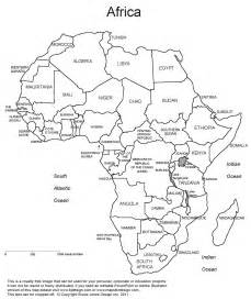 Africa Fill In The Blank Map Quiz by Printable Blank Map Of Africa New Calendar Template Site