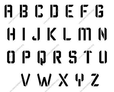 printable font size number letters in alphabet sle letter template