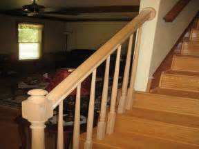 Install Handrail On Stairs How To Amp Repairs How To Install Awesome Stair Railing