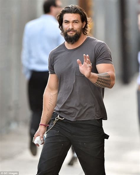 jason momoa remains coy about playing aquaman in man of steel sequel daily mail online