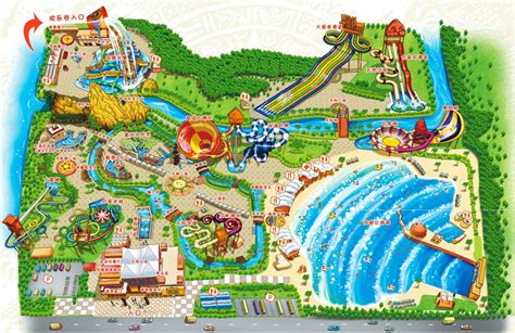 map of us water parks theme park review happy valley shanghai opens water park