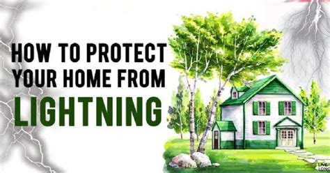how to protect your home from lightning