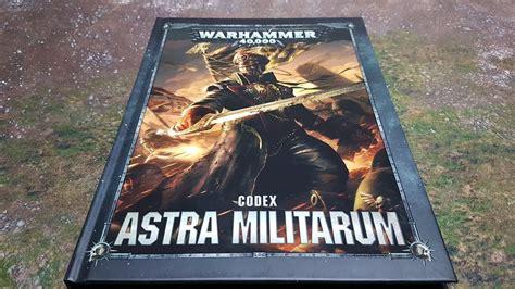 Codex Astra Militarum 8th edition codex astra militarum review