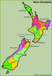 geography maps regions of new zealand