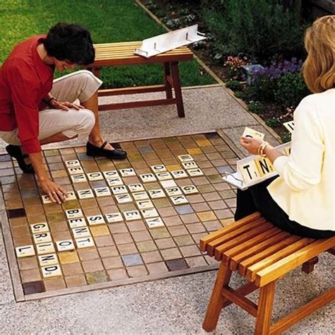 do it yourself backyard projects 7 make a giant scrabble set
