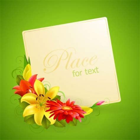 Kartu Ucapan Flower bunga kartu ucapan vektor vektor bunga vektor gratis gratis