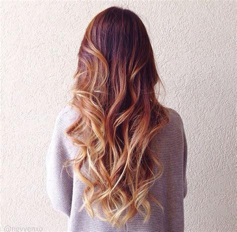 cute hair color ideas for redheads le fluid hair painting la toute nouvelle fa 231 on de se
