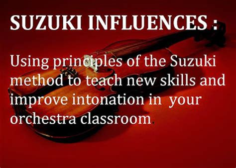 Suzuki Teaching Method Orchestra Classroom Ideas November 2014