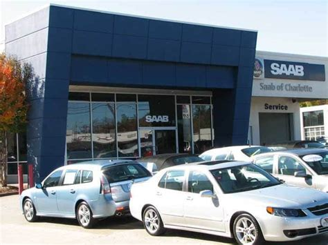 saab of new dealership in nc 28227