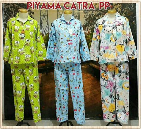 Piyama Katun Dewasa distributor piyama katun catra dewasa pp murah 64ribu peluang usaha grosir baju anak daster