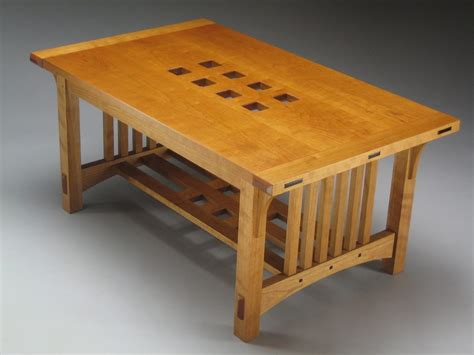 Arts And Crafts Coffee Table Two Flavours Finewoodworking Arts And Crafts Coffee Table