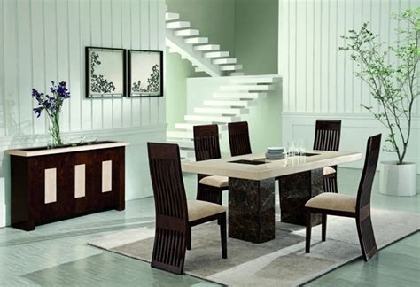 Contemporary Strasbourg Dining Table Design for Home Interior Furniture by Alfrank « Furniture