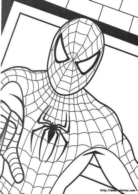 spiderman head coloring page spiderman 214 r 220 mcek adam boyama sayfalari