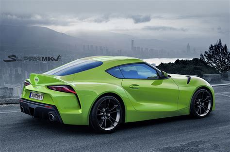 toyota supra new toyota supra rendering comes with ft 1 concept