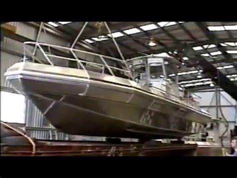 gmd boats gmd 10m all aluminium rib single diesel waterjet youtube