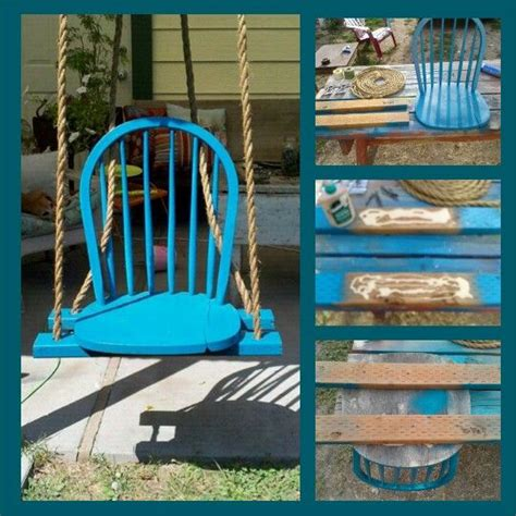 Diy Chair Swing Diy Projects Pinterest