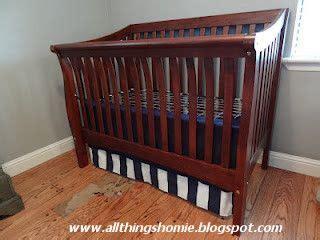 Adjustable Crib Skirt Pattern by Adjustable Crib Skirt Tutorial Nurseries