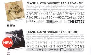 Frank Lloyd Wright Font Free Leather Journals And Photo Albums By Oberon Designs With