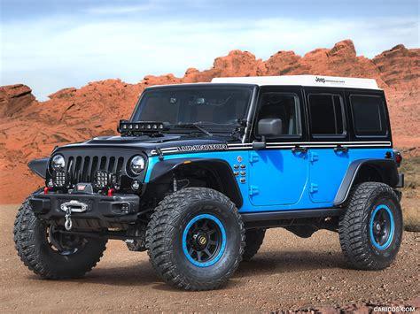 jeep moab 2017 2017 jeep moab easter safari concepts luminator concept