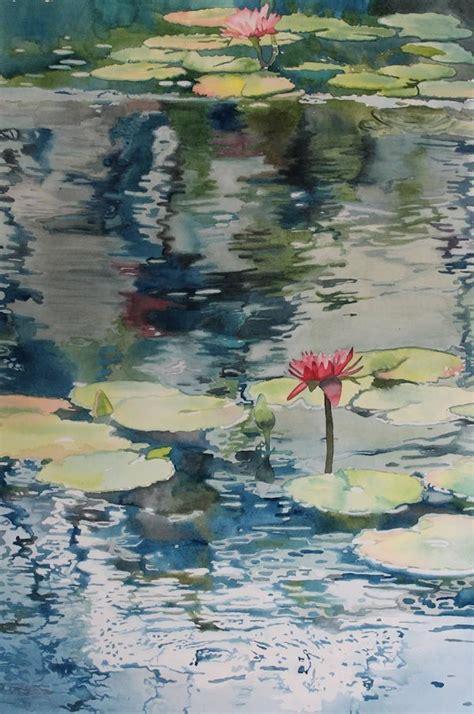 watercolor lotus tutorial 17 best images about watercolor pencils on pinterest