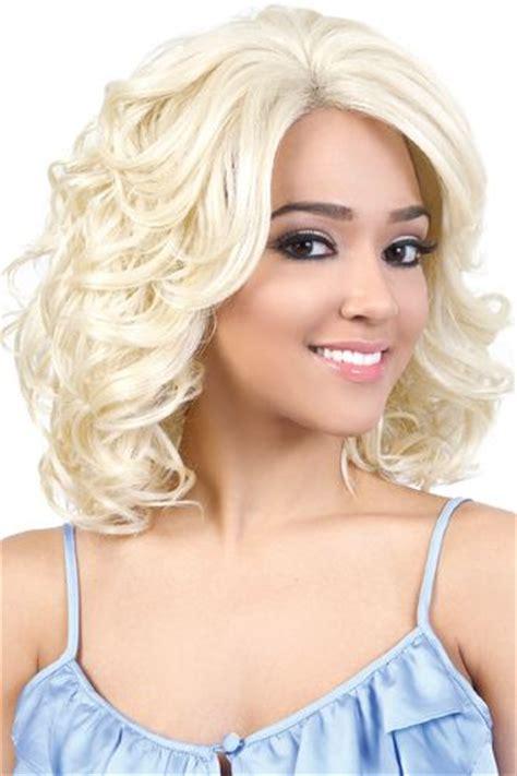 front flip hair hbsl bio motown tress human hair blend lace front wig