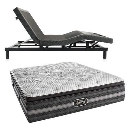 katarina twin xl size plush mattress  adjustable base