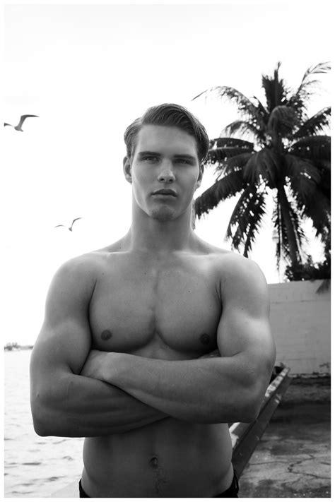 Austin Scoggin Heads to Miami for a Rooftop Swim | The