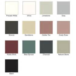 white color names color selection for emseal precompressed wall and floor