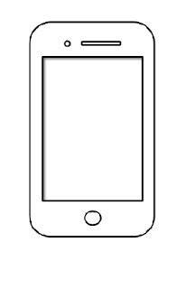 Iphone 8 Coloring Page by Tekening Een Verf En Kleur Iphone Kleurplaten Voor