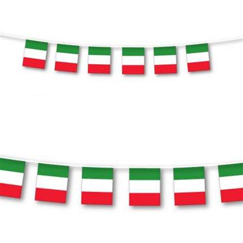 printable italian flag bunting italian flags festa italiana italian party pinterest