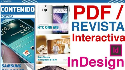 layout que es pdf indesign crear pdf revista interactiva botones
