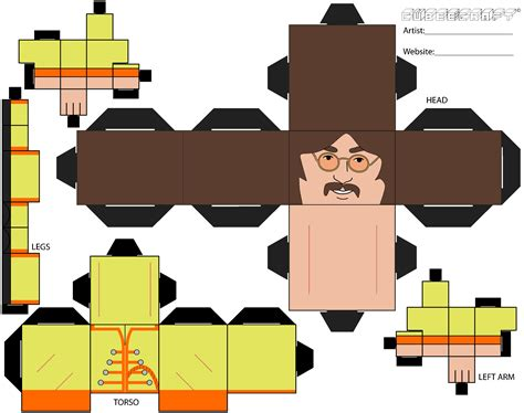 lennon papercraft and the beatles on