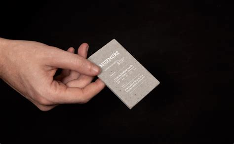 concrete business cards8 fubiz media