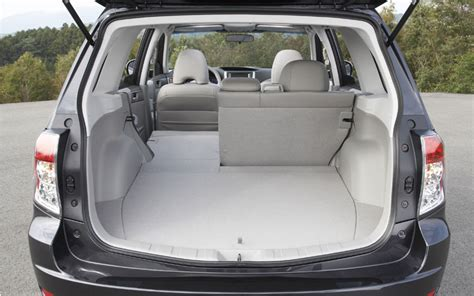 Subaru Forester Seating by 2009 Subaru Forester Seating Configuration Photo 8