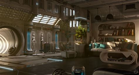 home interior concepts home by carsten stueben sci fi 3d cgsociety 3d