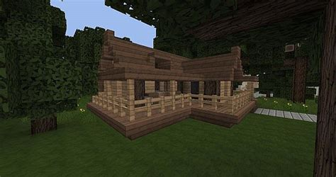 Simple To Build House Plans Simple Starter House Schematic Minecraft Project