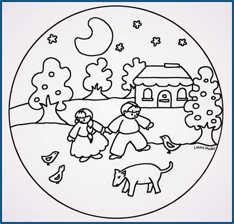 imagenes de mandalas para jovenes mandalas para colorear para ni 241 os de preescolar archivos