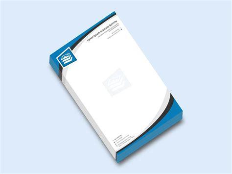 Business letterhead design free psd design